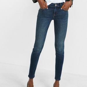 Express Jeans Skinny Size 2 Dark Wash